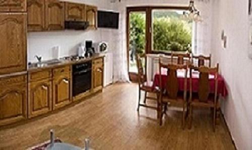 Küche/Küchenzeile in der Unterkunft Apartment Irene