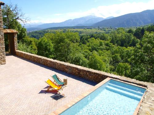 A view of the pool at Cal Pesolet Eco Turisme Rural or nearby