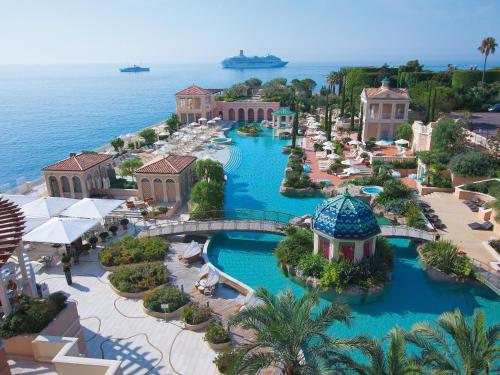 A view of the pool at Monte-Carlo Bay Hotel & Resort or nearby