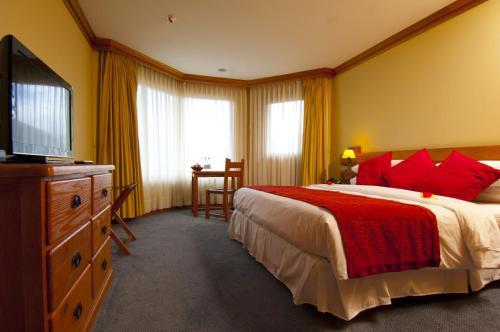 Cama o camas de una habitación en Loberias Del Sur