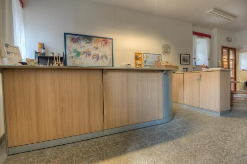 The lobby or reception area at Il Seicento