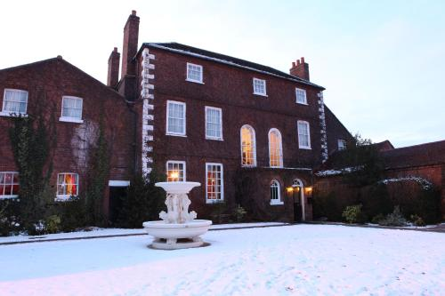 Park House Hotel during the winter