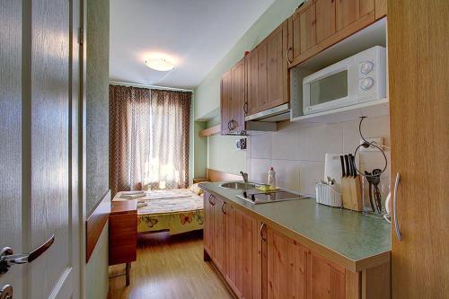 Кухня или мини-кухня в Апарт- отель Невский 78