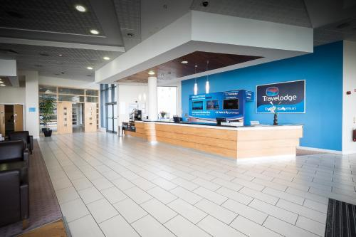 The lobby or reception area at Travelodge Dublin Airport South
