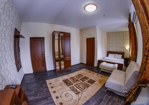 Гостиная зона в Мини-Отель «Тетта»