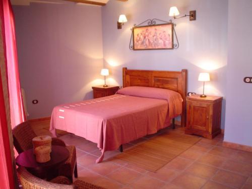 Cama o camas de una habitación en Apartamentos Turísticos Pepe