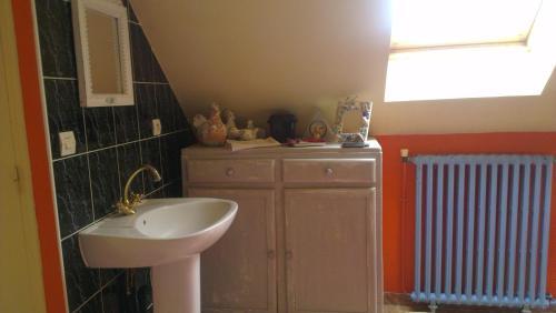 A bathroom at Maestra Robinskaia