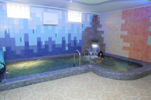 The swimming pool at or near Marijos Karpenko Apartaments