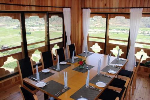A restaurant or other place to eat at Bhutan Mandala Resort
