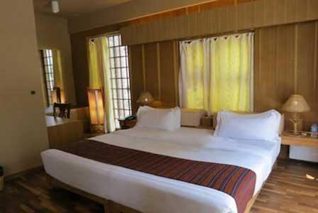 A room at Bhutan Peaceful Resort