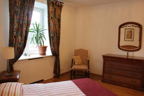 A seating area at Apartment Nezavisimosty
