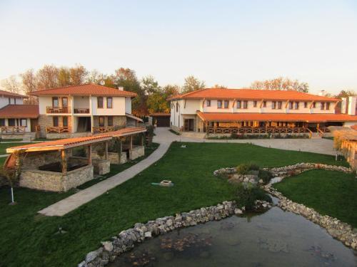 A garden outside Stara Pliska Complex