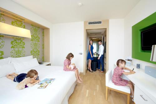 Gäste, die in der Unterkunft Occidental Praha Five übernachten