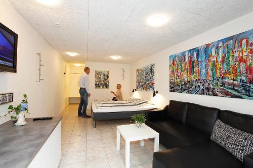Spa- og/eller wellnessfaciliteter på Caféhaven