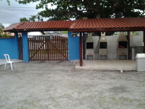 Uma varanda ou outra área externa em Hotel Pousada Praia e Sol
