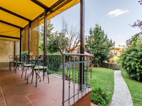 A porch or other outdoor area at Sangaggio House B&B