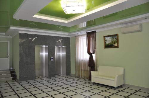 The lobby or reception area at DiLuch Health Resort