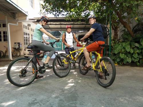 Cycling at or in the surroundings of Bike World Explores Myanmar Inn