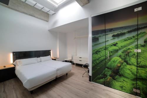 Cama o camas de una habitación en Zerupe Hotel