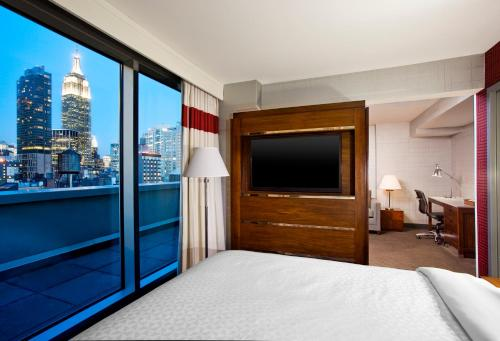 A television and/or entertainment center at Four Points by Sheraton Manhattan Chelsea