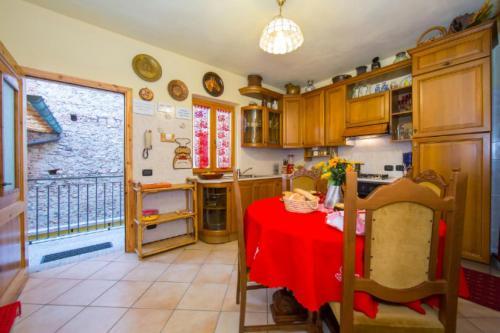 Küche/Küchenzeile in der Unterkunft La Loggia