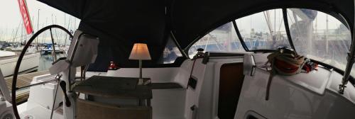 Banquet facilities at the boat