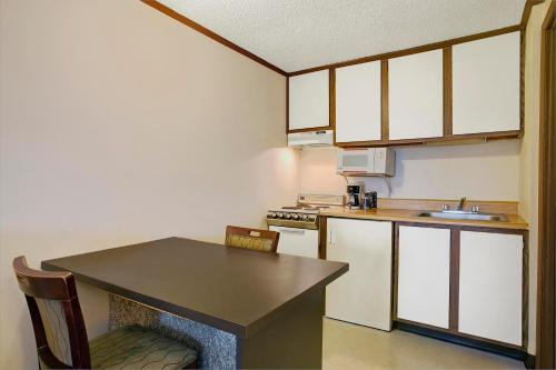 A kitchen or kitchenette at Knights Inn Greensburg