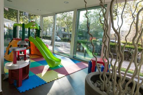 Children's play area at Residence Sunrise Cesenatico