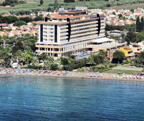 Een luchtfoto van Ephesia Hotel - All Inclusive