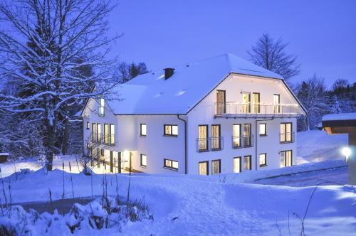 Jagdhaus Resort im Winter