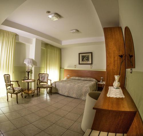 Area soggiorno di Tourist Hotel