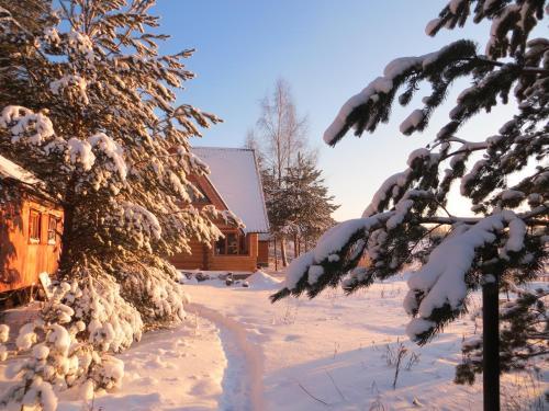 Guest House Na Beregu Seligera зимой