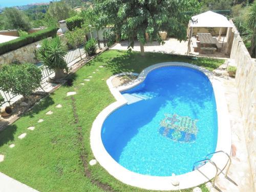 The swimming pool at or near Villa Carolina