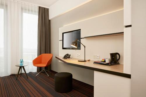 TV/Unterhaltungsangebot in der Unterkunft Hyperion Hotel Hamburg