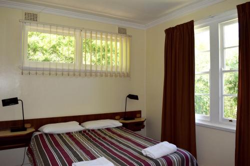 A bed or beds in a room at Clanwilliam