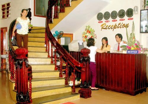 Khu vực sảnh/lễ tân tại Nhu Phu Hotel