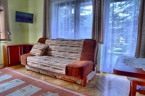 Część wypoczynkowa w obiekcie Dom Wakacyjny Izba