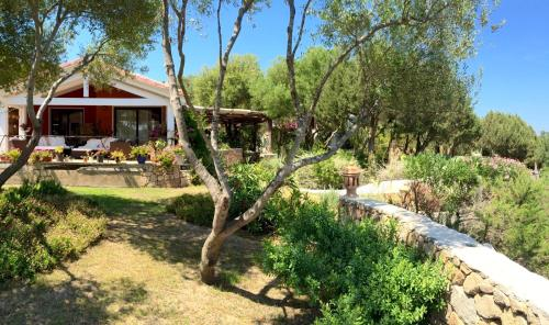 A garden outside Domus de Rocas Holiday House