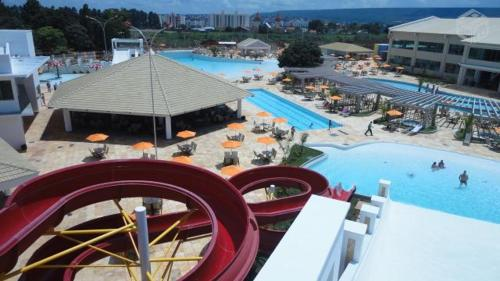 A view of the pool at Apartamento Lacqua Park DiRoma or nearby