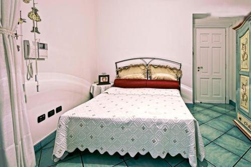 Letto o letti in una camera di Casa Mariannina