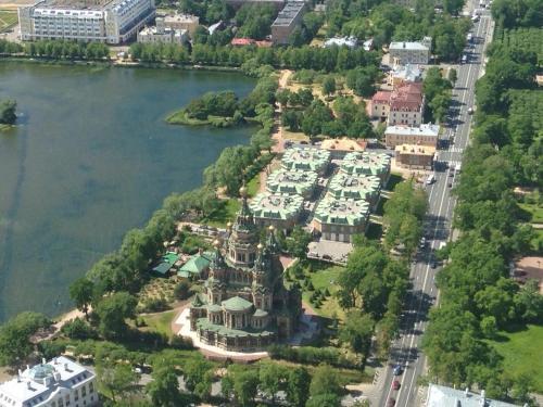 A bird's-eye view of New Peterhof Hotel