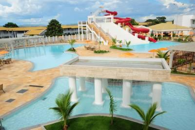 The swimming pool at or near Lacqua Park Caldas Novas