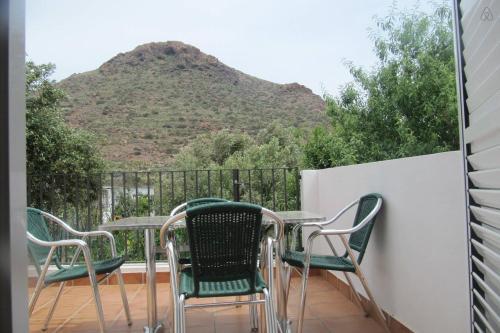 Un balcón o terraza de La Casa Del Volcán De Cabo De Gata