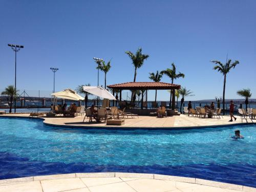 The swimming pool at or near Lake Side Apart Hotel