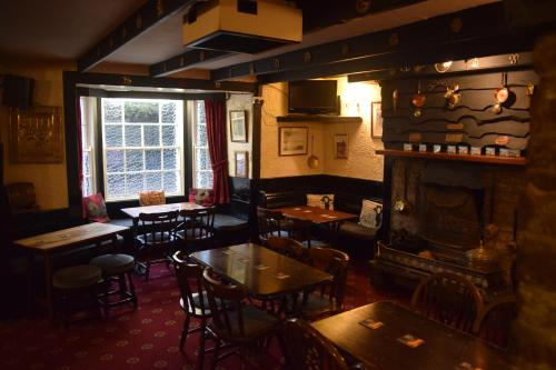A restaurant or other place to eat at The Angel Inn