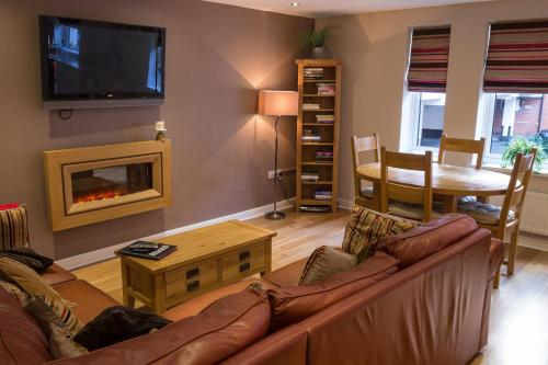 A television and/or entertainment center at The Jewellery Suites Birmingham