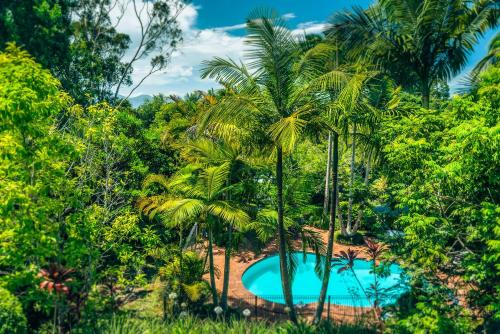 A view of the pool at Bella Vista Bellingen or nearby