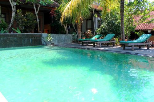 The swimming pool at or close to Dewa Bungalows
