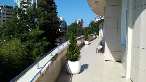 Балкон или терраса в Apartment Krasnaya 2