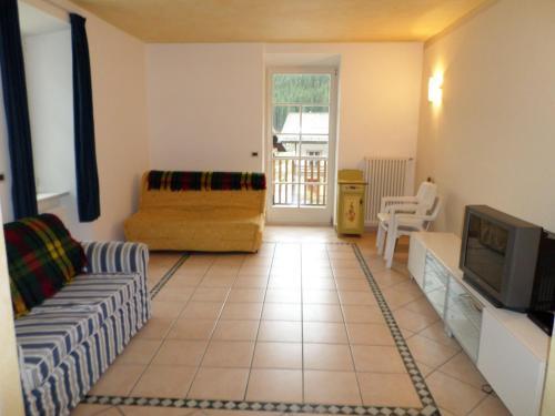 A seating area at Appartamento San Cristoforo